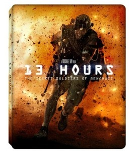 BLU-RAY / 13 HOURS: THE SECRET SOLDIERS OF BENGHAZI STEELBOOK LE