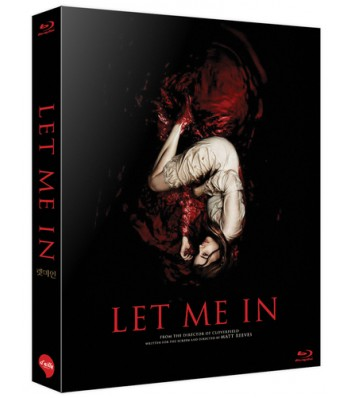 BLU-RAY / LET ME IN LIMITED EDITION 1,000 COPIES NUMBERED (SCANAVO CASE + 36P BOOKLET)