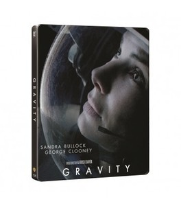 BLU-RAY / GRAVITY 2D+3D STEELBOOK LIMITED EDITON