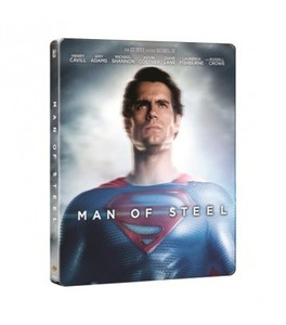 BLU-RAY / MAN OF STEEL 2D+3D STEELBOOK LIMITED EDITON