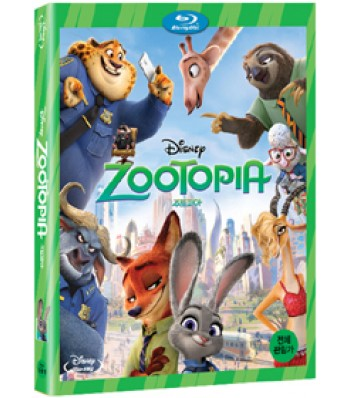 BLU-RAY / ZOOTOPIA 2D PLAIN EDITION