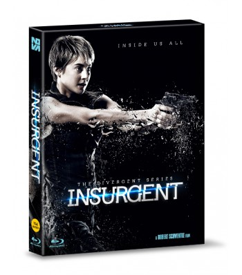 BLU-RAY / INSURGENT 700 COPIES LE (2D,3D COMPATIBLE, 16P BOOKLET + POST CARDS 5EA + CHARACTER CARD 5EA)