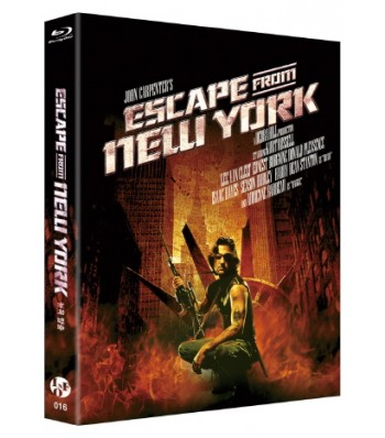 BLU-RAY / ESCAPE FROM NEW YORK (500 COPIES NUMBERED)