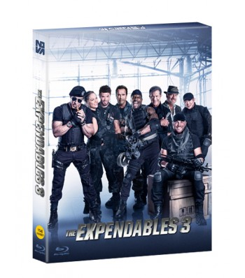 BLU-RAY / THE EXPENDABLES 3 700 COPIES LE (16P BOOKLET + POST CARDS 4EA + CHARACTER CARD 4EA)