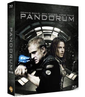 BLU-RAY / PANDORUM VER.B LIMITED EDITION 700 COPIES NUMBERED (SCANAVO CASE+MOVIE CARDS+40P BOOKLET)