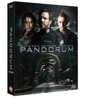 BLU-RAY / PANDORUM VER.A LIMITED EDITION 700 COPIES NUMBERED (SCANAVO CASE+MOVIE CARDS+40P BOOKLET)