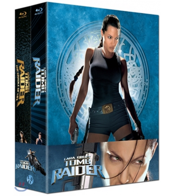 BLU-RAY / LARA CROFT TOMB RAIDER 1 + 2 COMBO PACK LENTICULAR (LIMITED 1,000 COPIES, SAME NUMBERED)