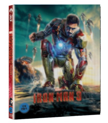 BLU-RAY / IRON MAN 3 [2D+3D] LENTICULAR LIMITED EDITION