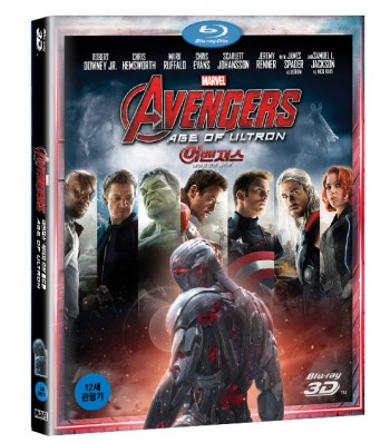 BLU-RAY / AVENGERS : AGE OF ULTRON 3D
