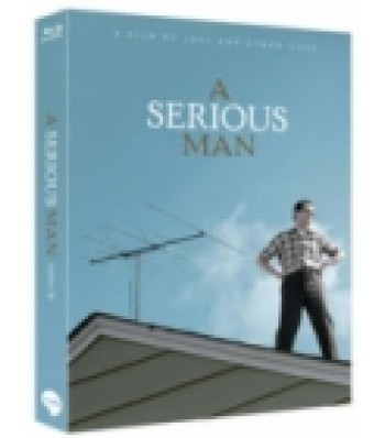BLU-RAY / A SERIOUS MAN LIMITED EDITION 700 COPIES NUMBERED (SCANAVO CASE + 24P BOOKLET)