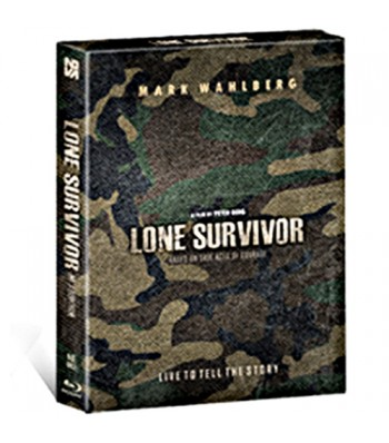 LONE SURVIVOR STEELBOOK FULLSLIP LIMITED EDITION (NE #2)