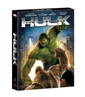 THE INCREDIBLE HULK STEELBOOK FULL-SLIP 1,400 COPIES (NE #9)