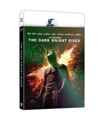 THE DARK KNIGHT RISES LENTICULAR STEELBOOK NC#3