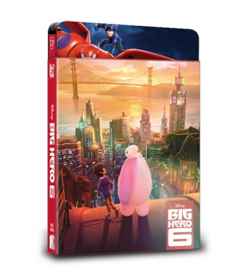 BIG HERO 6 STEELBOOK (2D+3D) LENTICULAR SLIP (LIMITED 600 COPIES) NC#5