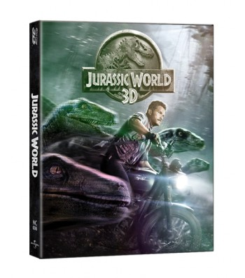 JURASSIC WORLD (2D+3D) STEEL BOOK LENTICULAR SLIP (LIMITED 600 COPIES) NC#6