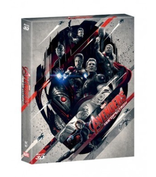 AVENGERS : AGE OF ULTRON(2D+3D) STEELBOOK FULL SLEEVE(LIMITED 700 COPIES)  NC#7