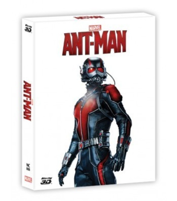 ANT-MAN(2D+3D) STEELBOOK FULL SLEEVE(LIMITED 400 COPIES) NC#8