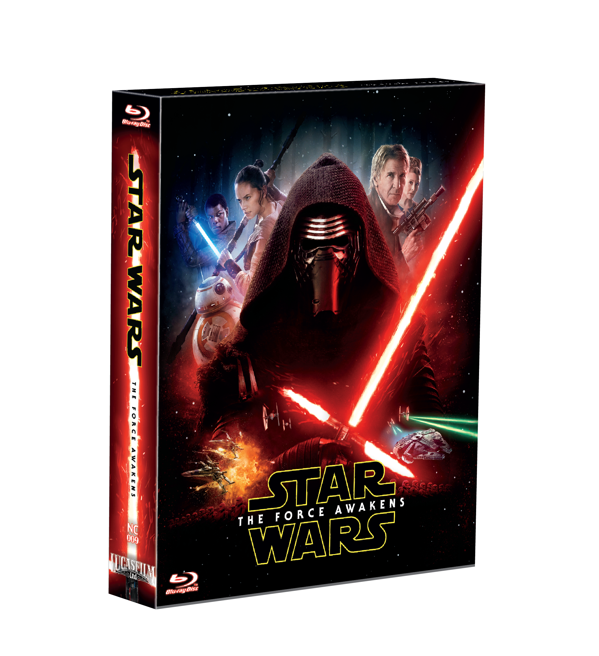 STAR WARS: EPISODE VII - THE FORCE AWAKENS STEELBOOK FULL SLIP-A(LIMITED 200 COPIES) NC#9