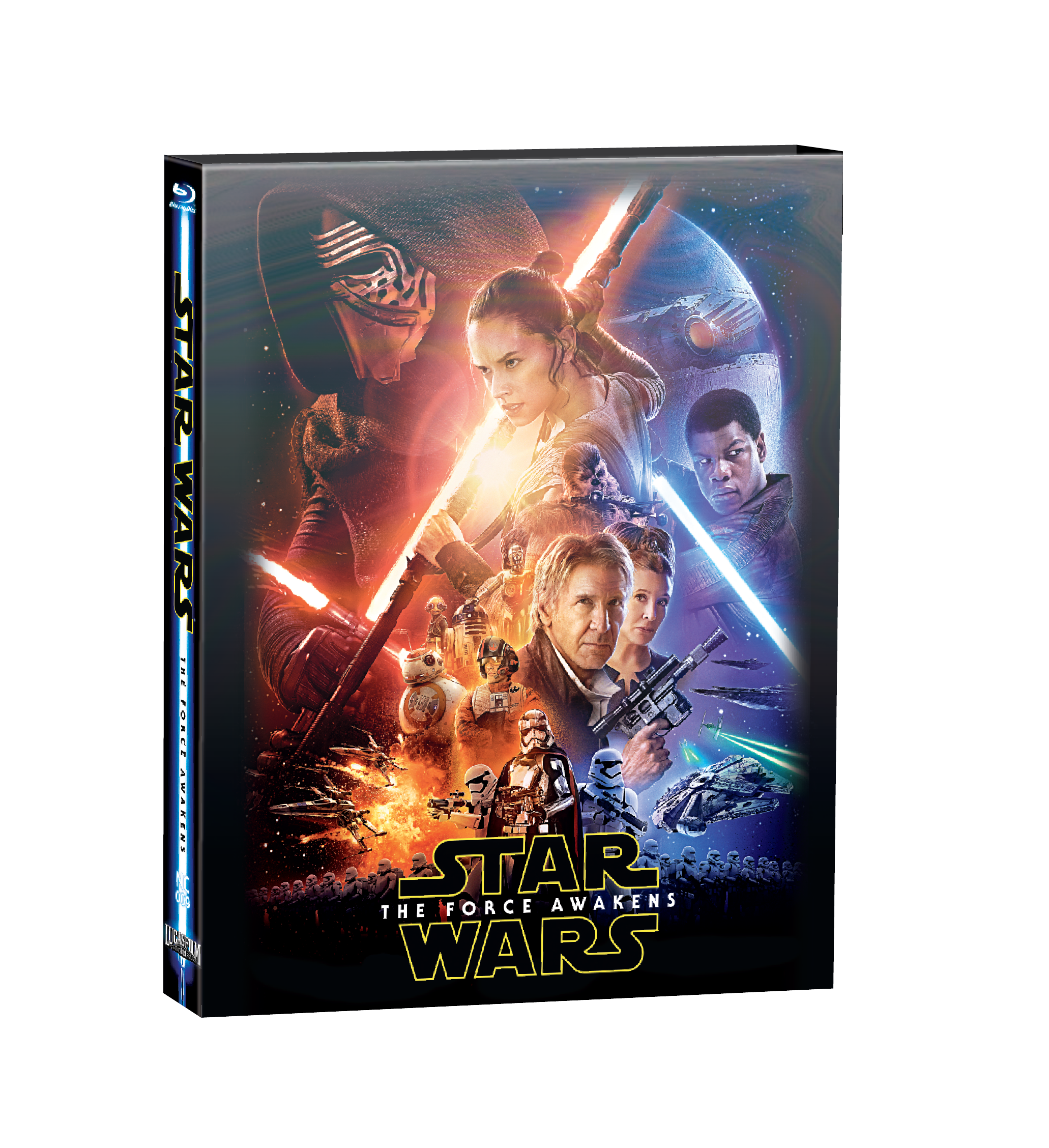 STAR WARS: EPISODE VII - THE FORCE AWAKENS STEELBOOK LENTI SLIP-A(LIMITED 400 COPIES) NC#9