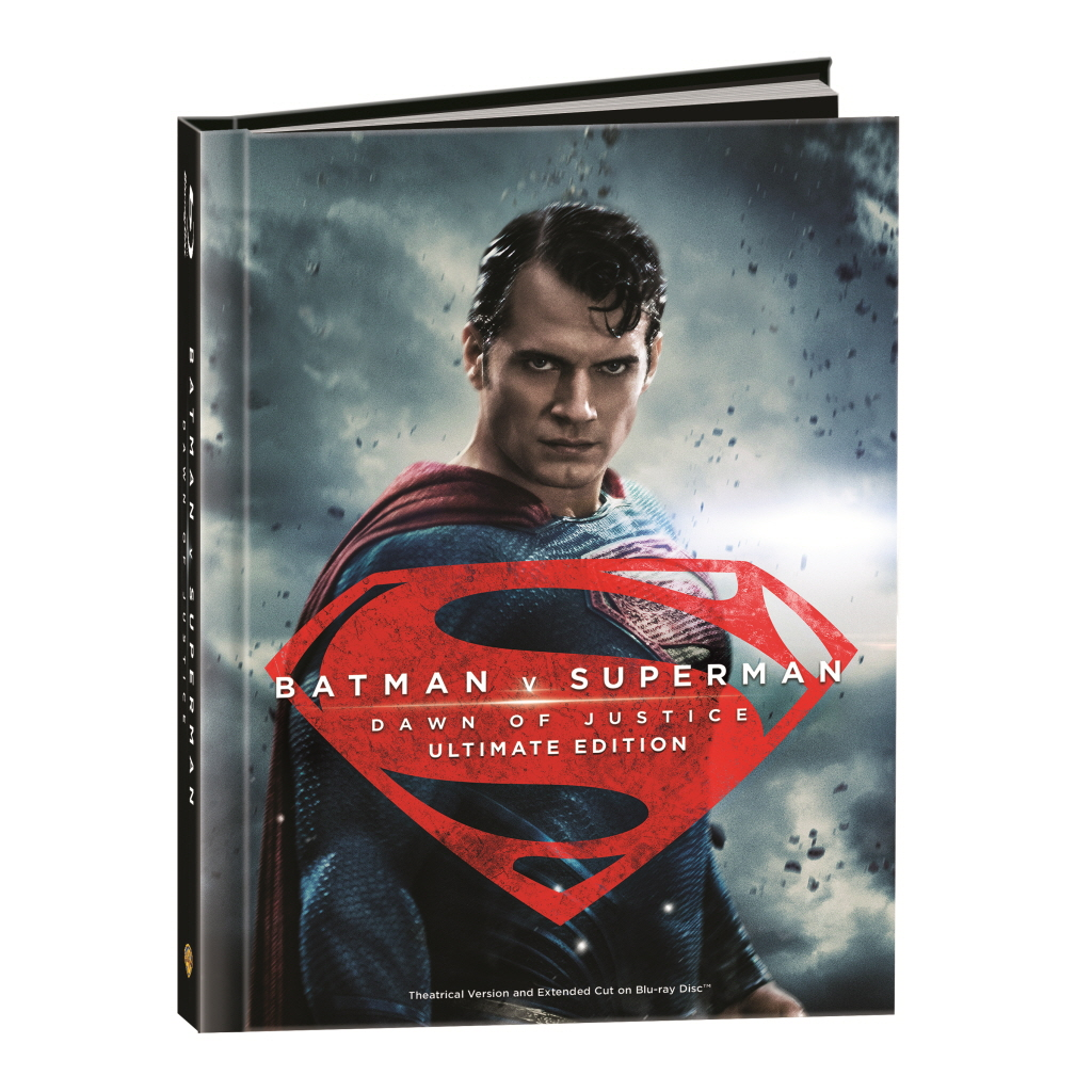 BLU-RAY / Batman v Superman : Dawn of Justice DIGIBOOK LE(2D+UE)