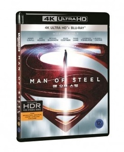BLU-RAY / MAN OF STEEL (2D+4K UHD UE) LE