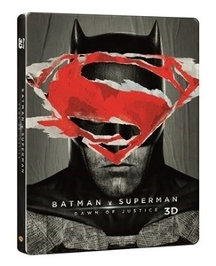 BLU-RAY / Batman v Superman : Dawn of Justice STEELBOOK LE(2D+3D)