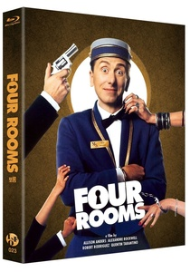BLU-RAY / FOUR ROOMS FULL SLIP (500 NUMBERED LE)