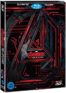 AVENGERS : AGE OF ULTRON(2D+3D) Steelbook Limited Edition