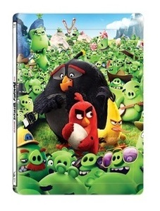 BLU-RAY / ANGRY BIRDS : THE MOVIE(2D+3D) MAGNET LENTICULAR STEELBOOK LE
