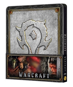 BLU-RAY / WARCRAFT : THE BEGINNING 2D+3D STEELBOOK LE (HORDE PAPER BAND VER.)