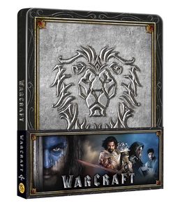 BLU-RAY / WARCRAFT : THE BEGINNING 2D+3D STEELBOOK LE (ALLIANCE PAPER BAND VER.)