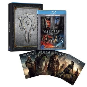 BLU-RAY / WARCRAFT : THE BEGINNING 2D+3D HORDE VER.(O-RING CASE + HORDE CHARACTER CARD 4EA)