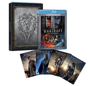 BLU-RAY / WARCRAFT : THE BEGINNING 2D+3D ALLIANCE VER.(O-RING CASE + ALLIANCE CHARACTER CARD 4EA)