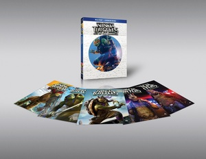 BLU-RAY / TEENAGE MUTANT NINJA TURTLES : OUT OF THE SHADOWS 2D+3D LE (OUT CASE + CHARACTER CARD 6EA)