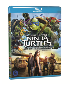 BLU-RAY / TEENAGE MUTANT NINJA TURTLES : OUT OF THE SHADOWS