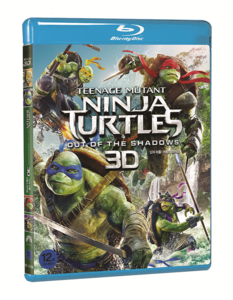 BLU-RAY / TEENAGE MUTANT NINJA TURTLES : OUT OF THE SHADOWS(2D+3D)