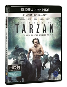 BLU-RAY / THE LEGEND OF TARZAN (2D+4K UHD) LE