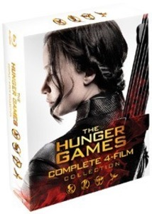 BLU-RAY / THE HUNGER GAMES BOXSET