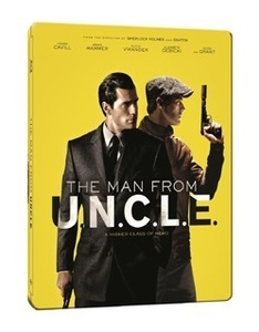 BLU-RAY / THE MAN FROM U.N.C.L.E STEELBOOK LE