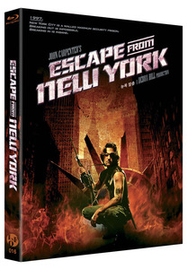 BLU-RAY / ESCAPE FROM NEW YORK (PLAIN EDITION)