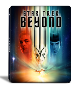 BLU-RAY / STAR TREK BEYOND 2D+3D CHARACTER STEELBOOK LE