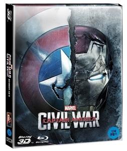 BLU-RAY / CAPTAIN AMERICA : CIVIL WAR 2D + 3D STEELBOOK LE (NON NOVA CHOICE)