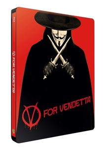 BLU-RAY / V FOR VENDETTA STEELBOOK LE