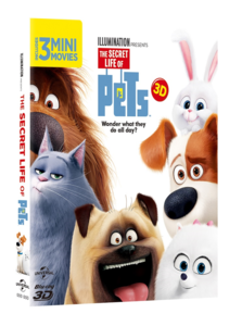 BLU-RAY / THE SECRET LIFE OF PETS (2D+3D)