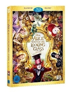 BLU-RAY / ALICE THROUGH THE LOOKING GLASS (2D + 3D)