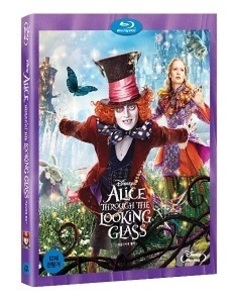 BLU-RAY / ALICE THROUGH THE LOOKING GLASS (2D)
