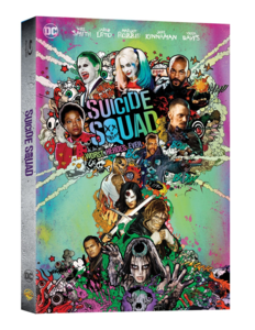 BLU-RAY / SUICIDE SQUAD 2D+3D (EXTENDED VER. + THEATRICAL VER.)