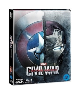 BLU-RAY / CAPTAIN AMERICA : CIVIL WAR 2D + 3D STEELBOOK LE (NON NOVA CHOICE)