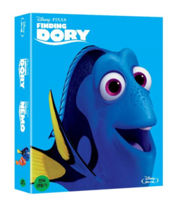 BLU-RAY / FINDING DORY + FINDING NEMO