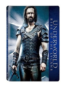 BLU-RAY / UNDERWORLD : RISE OF THE LYCANS STEELBOOK LE